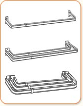 rod brackets rods design of angled and best image valance idea