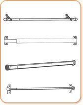 Curtain Rod Extension Brackets Curtain Rods Floors